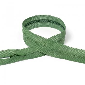 Молния MaxZipper пласт. потайная №3 н/р цв.F269 т.зеленый