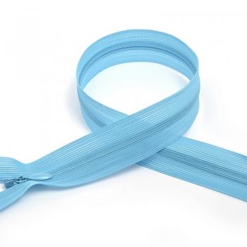 Молния MaxZipper пласт. потайная №3 н/р цв.F206 голубой опал