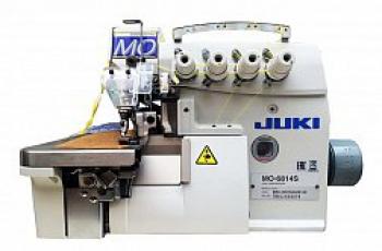 ПРОМЫШЛЕННЫЙ ОВЕРЛОК JUKI MO-6814S-BE6-24H/G44/Q143
