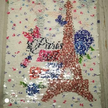 Аппликация Пришивная 36100 «Париж башня»