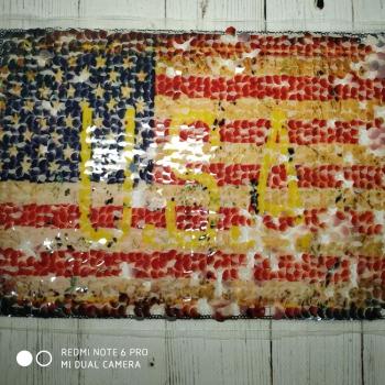 Аппликация Пришивная 40134 «USA»