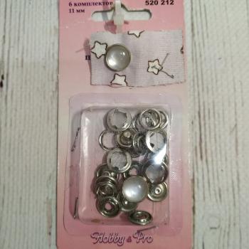 Кнопки блузочные перламутровые 520212