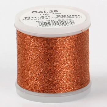 Madeira Metallic №40 200м цвет 28