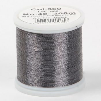 Madeira Metallic №40 200м цвет 360