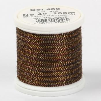 Madeira Metallic №40 200м цвет 482