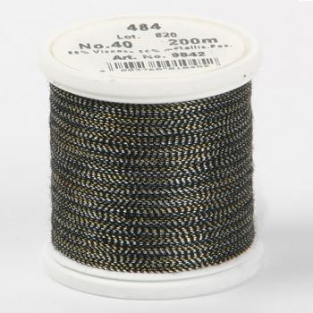 Madeira Metallic №40 200м цвет 484