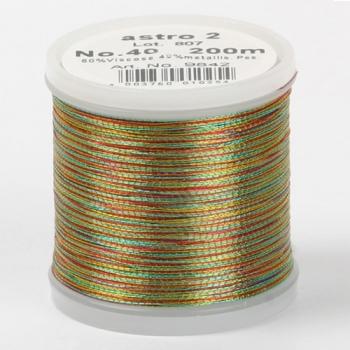 Madeira Metallic №40 200м цвет astro-2