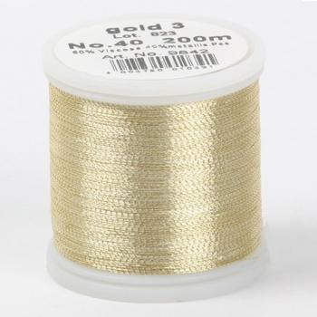 Madeira Metallic №40 200м цвет gold-3