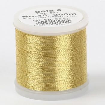 Madeira Metallic №40 200м цвет gold-4