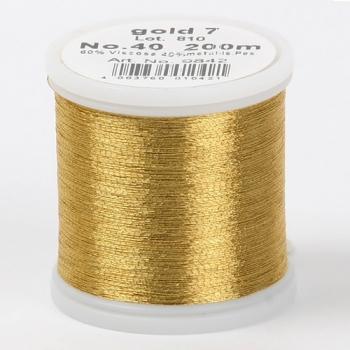 Madeira Metallic №40 200м цвет gold-7
