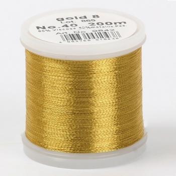 Madeira Metallic №40 200м цвет gold-8