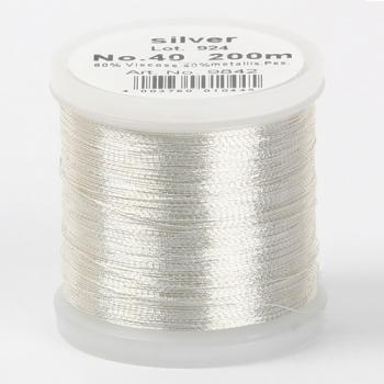 Madeira Metallic №40 200м цвет silver