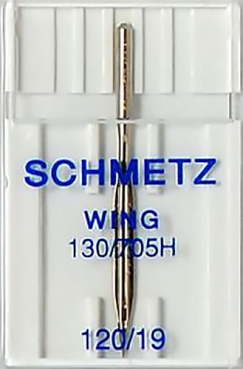 Игла с лопастью для мережки №120 Schmetz 130/705H-WING 1шт