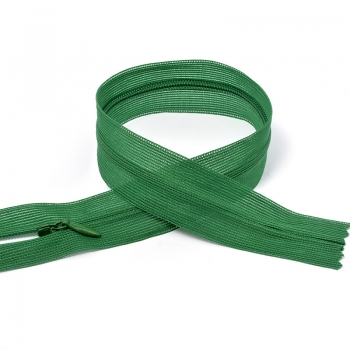 Молния MaxZipper пласт. потайная №3 н/р цв.F258 зеленый