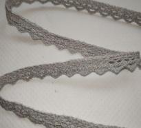 Тесьма вязанная(кружево), 10мм, 100% хлопок