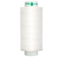 Цвет 199 (белые) нитки Dor Tak №40/2 365м