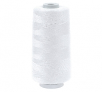 Цвет 199 (белые) нитки Dor Tak №60/2 4500м