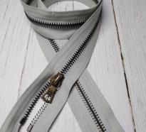 Молния Riri, разъемная, металл Т-5, серый