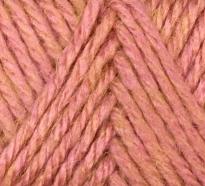 Розово-жёлтый меланж