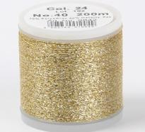 Madeira Metallic №40 200м цвет 24