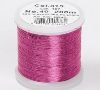 Madeira Metallic №40 200м цвет 313