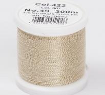 Madeira Metallic №40 200м цвет 422