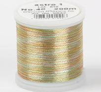 Madeira Metallic №40 200м цвет astro-1