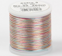 Madeira Metallic №40 200м цвет astro-3
