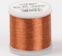 Madeira Metallic №40 200м цвет copper