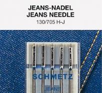 Иглы для джинсы №90-110 Schmetz 130/705H-J 5 шт