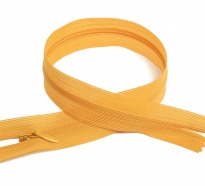 Молния MaxZipper пласт. потайная №3 н/р цв.F112 жёлтый