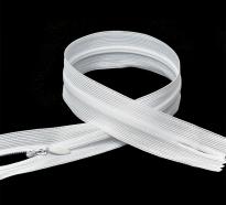 Молния MaxZipper пласт. потайная №3 н/р цв.F101 белый